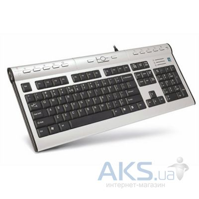Клавіатура A4Tech KL-7MUU-R Black/Silver