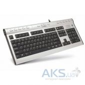 Клавиатура A4Tech KL-7MUU-R Black/Silver