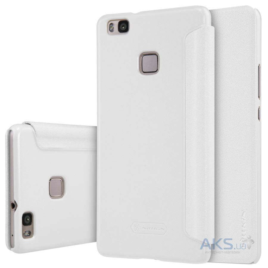 Чехол Nillkin Sparkle Leather Series Huawei Ascend P9 Lite White