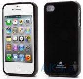 Чехол Mercury Jelly Color Series Apple iPhone 4, iPhone 4S Black