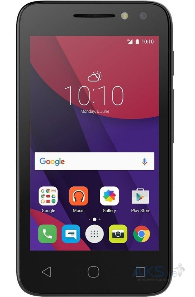 Мобильный телефон Alcatel ONETOUCH 4034D (Pixi 4) Sharp Blue