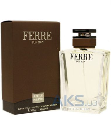 Gianfranco Ferre for Men Туалетная вода 50 ml