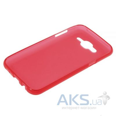 Чехол Original TPU Case Samsung J500 Galaxy J5 Red