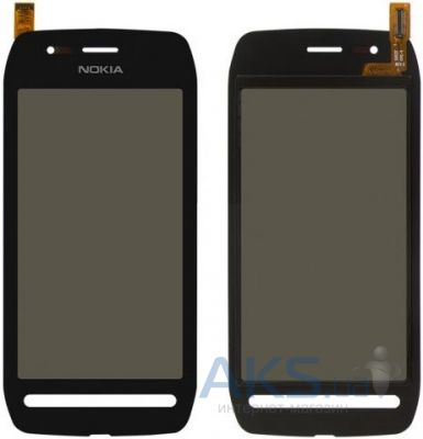 Сенсор (тачскрин) для Nokia 603 Original Black