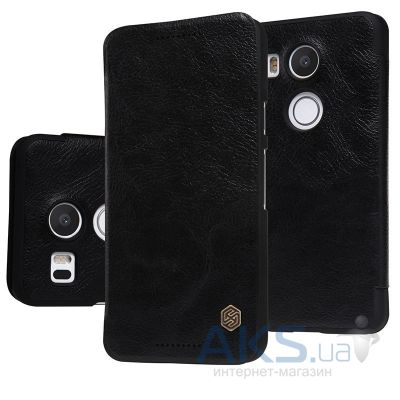 Чехол Nillkin Qin Leather Series LG Google Nexus 5X H791 Black