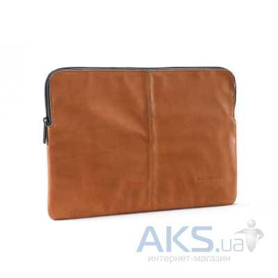 Чехол Decoded Leather Sleeve with Zipper for MacBook Pro / Retina 15 Brown (D3SZ15BN)