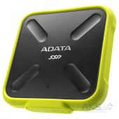 Накопитель SSD ADATA 256GB USB 3.1 SD700 IP68 Yellow