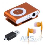 Вид 3 - Mp3-плеер Slim Flash Drive Orange (Распродажа!)