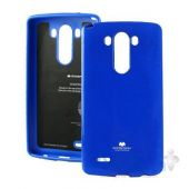 Чехол Mercury Jelly Color Series LG Optimus G3 D855, D850, D851 Blue