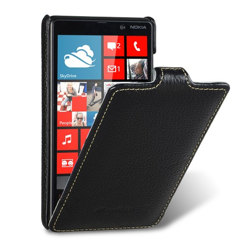 Чехол Melkco Leather Case Jacka for Nokia Lumia 820 Black (NKLU82LCJT1BKLC)