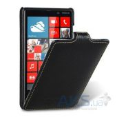Вид 1 - Чехол Melkco Leather Case Jacka for Nokia Lumia 820 Black (NKLU82LCJT1BKLC)