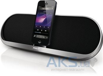 Колонки акустические Philips Lightning iPhone/iPod/Aux Black (DS7580/10)