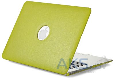 Чехол Kuzy Leather Case for MacBook Pro 13(with Retina display) Green