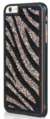 Чехол Bling My Thing Infinity Dots Flip for Apple iPhone 6 GLAM! Zebra Black Diamond Colour (BMT-IP6-GM-BK-ZBR)