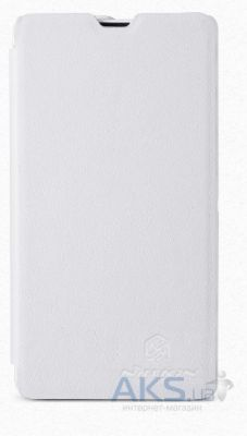 Чехол Nillkin Stylish Leather Series Sony Xperia ZR C5502 M36h White