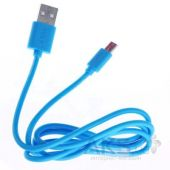 Кабель USB GOLF Rainbow Series micro USB Cable Blue