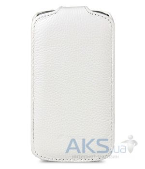 Вид 2 - Чехол Melkco Jacka leather case for Samsung S7562 Galaxy S DuoS White (SS7562LCJT1WELC)