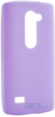 Чехол Melkco Poly Jacket TPU case LG Optimus Y50 Leon H324 Purple