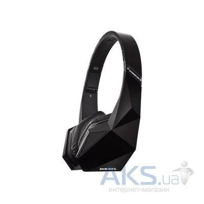 Наушники (гарнитура) Monster Diesel Vektr on-ear Black (MNS-129559-00)