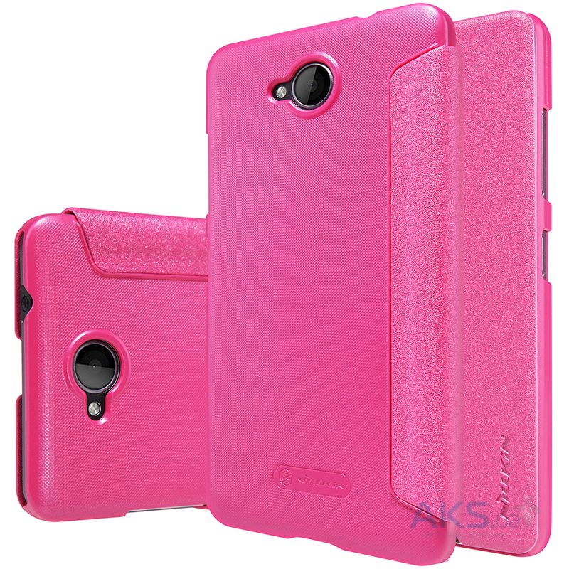 Чехол Nillkin Sparkle Leather Series Microsoft Lumia 650 Pink