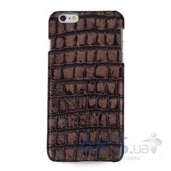 Чехол TETDED Back cover Wild Series Apple iPhone 6, iPhone 6S Brown Croco
