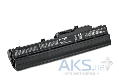 Аккумулятор для ноутбука MSI LG X110(BTY-S11, MI1212LH) 11,1V 5200mAh (NB00000133) PowerPlant black