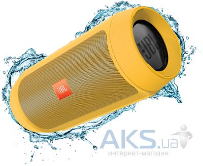 Колонки акустические JBL Charge 2 Plus Yellow (CHARGE2PLUSYELLOWEU)