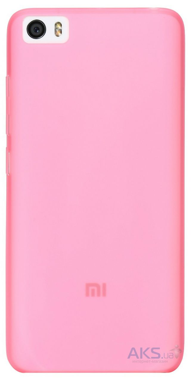 Чехол Xiaomi Colorful Protective Shell Mi5 Pink