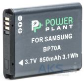 Аккумулятор Samsung BP70A 850mAh (DV00DV1261) PowerPlant