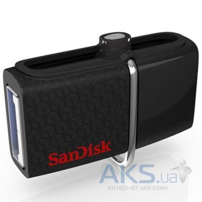Флешка SanDisk 16GB Ultra Dual OTG for Android Black USB 3.0 (SDDD2-016G-G46)