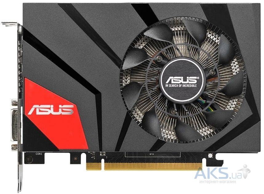 Видеокарта Asus GeForce GTX970 4096Mb DC OC Mini (GTX970-DCMOC-4GD5)