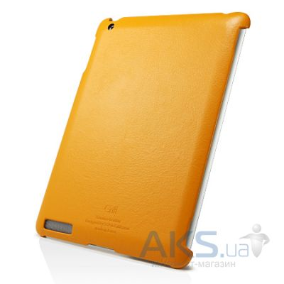Чехол для планшета SGP Griff Series Sherbet Apple iPad 2, iPad 3, iPad 4 Solaris Orange (SGP07698)