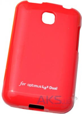 Чехол VOIA Jelly Case for LG Optimus L3 II Dual Red