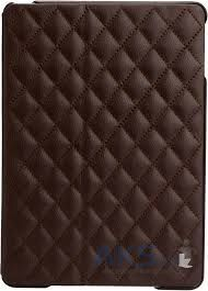 Чехол для планшета JisonCase Microfiber quilted leather case for iPad Air Brown  [JS-ID5-02H20	]