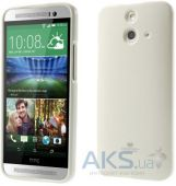 Чехол Mercury Jelly Color Series HTC One E8 Dual sim White