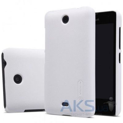 Чехол Nillkin Super Frosted Shield Microsoft Lumia 430 White