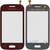 Сенсор (тачскрин) для Samsung Galaxy Young S6310, Galaxy Young S6312 Original Red