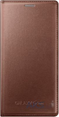 Чехол Samsung Flip Wallet Cover для Galaxy S5 mini G800 Rose Gold (EF-FG800BFEGRU)