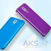 Вид 3 - Чехол Momax Protection TPU cover case for Samsung N9000 Galaxy Note 3 Purple (CCSANOTE3U)