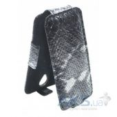 Чехол Sirius flip case for Samsung G130 Galaxy Young 2 Grey Snake