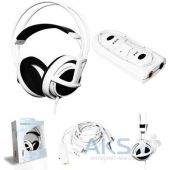 Вид 2 - Гарнитура для компьютера SteelSeries Siberia v2 USB White (51102)