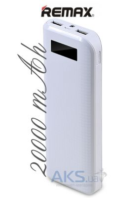 Внешний аккумулятор power bank Remax Proda Power Bank 20000mAh White