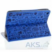 Вид 2 - Чехол для планшета Mooke Stylish Cute Case Apple iPad mini retina Blue