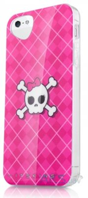 Чехол ITSkins Phantom cover case for iPhone 5/5S (Pink Skull) (APH5-PHANT-PINK)
