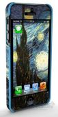 "Вид 2 - Чехол Qual Van Gogh Apple iPhone 5, iPhone 5S, iPhone 5SE ""Starry Night"" (QL1112SN) ""Starry Night"" (QL1112SN)"