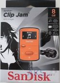 Вид 4 - Mp3-плеер SanDisk Sansa Clip JAM 8GB Orange