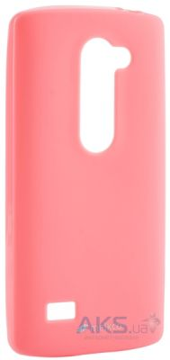 Чехол Melkco Poly Jacket TPU case LG Optimus Y70 Spirit H422 Pink
