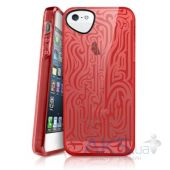 Вид 3 - Чехол ITSkins Ink Cover Case for iPhone 5/5S Red (APH5-NEINK-REDD)