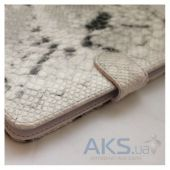 Вид 2 - Обложка (чехол) Saxon Case для PocketBook Basic 611/613 Snake White