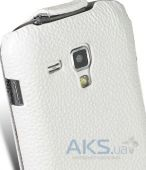 Вид 5 - Чехол Melkco Jacka leather case for Samsung S7562 Galaxy S DuoS White (SS7562LCJT1WELC)